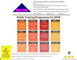 #9 untuk Design a Training Calendar 2018 oleh Waliulah