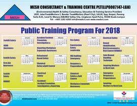 #2 untuk Design a Training Calendar 2018 oleh GDC75