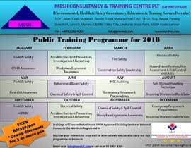 #6 untuk Design a Training Calendar 2018 oleh yaseennadaf0786