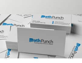 #36 cho Logo Design for Math Punch - Putting the Punch in Math bởi gfxbucket