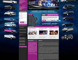 nº 57 pour Website Design for Limousine Service Inc. par MishAMan