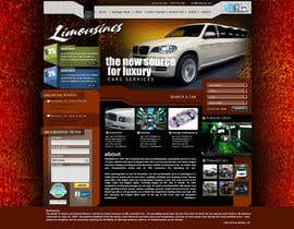 nº 11 pour Website Design for Limousine Service Inc. par vigneshsmart
