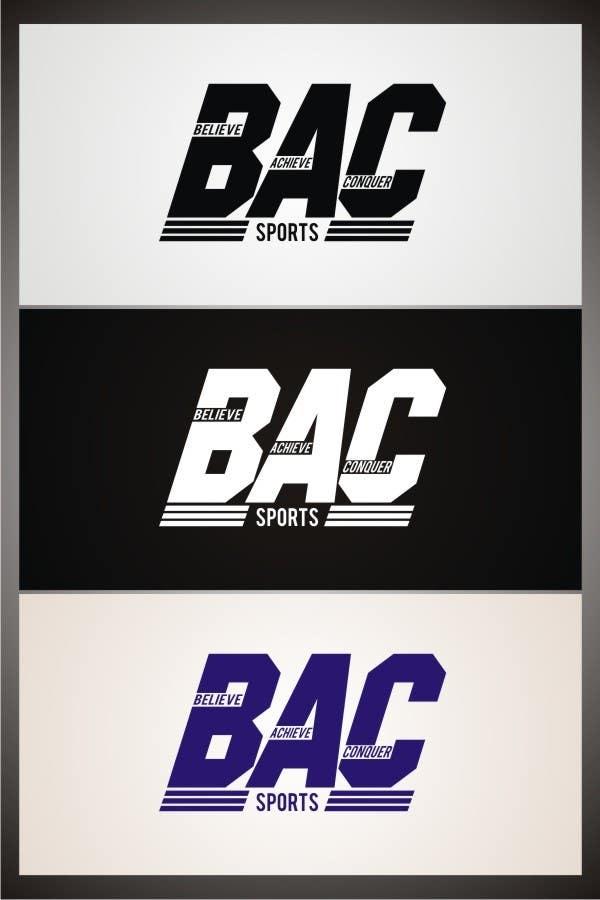 Proposition n°174 du concours Logo Design for BAC Sports