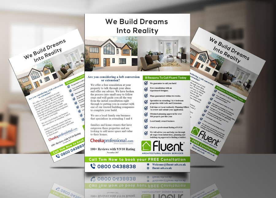 entry 10 by jabir88 for flyer design re work my ideas to make