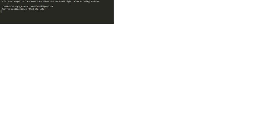 Inscrição nº                                         3                                      do Concurso para                                         Fix PHP running on CentOs with Apache