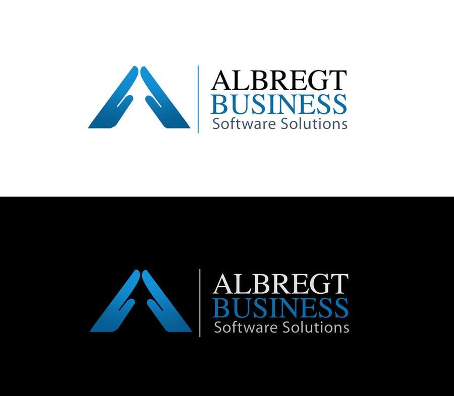 Kilpailutyö #                                        244                                      kilpailussa                                         Logo Design for Albregt Business Software Solutions