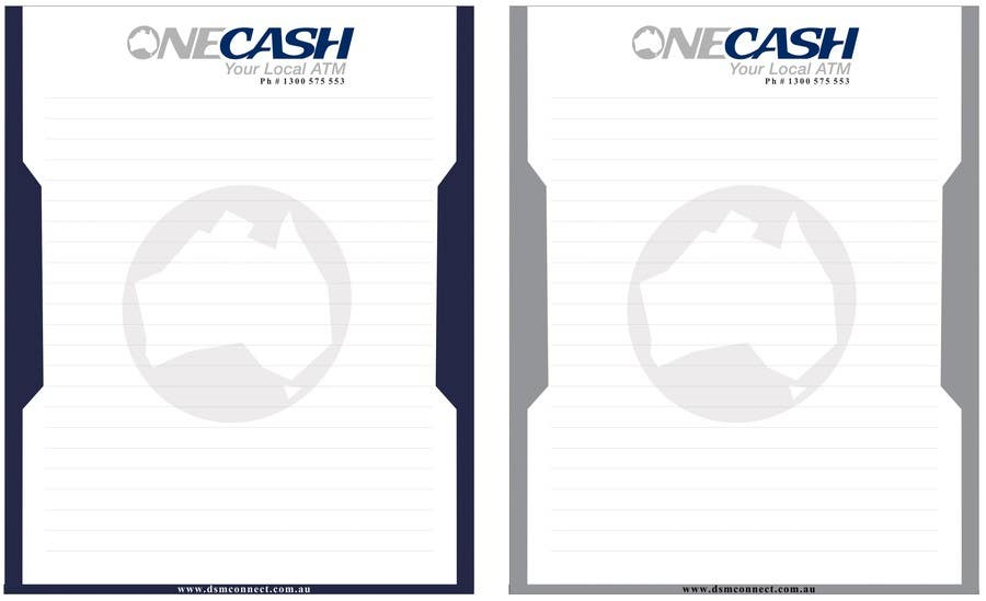 Proposition n°                                        47                                      du concours                                         Stationery Design for ONECASH LIMITED