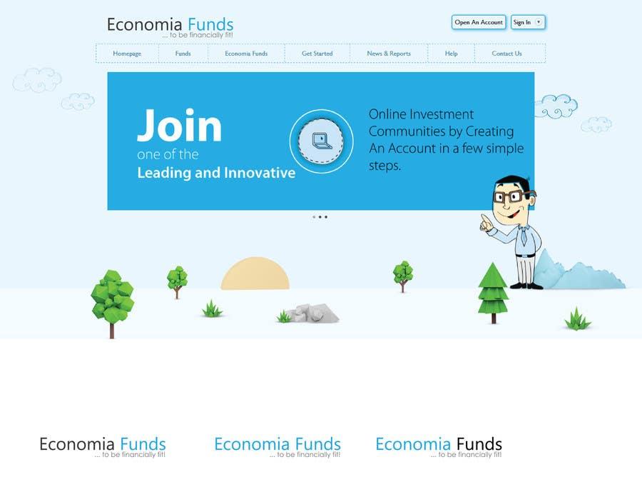 Proposition n°                                        352                                      du concours                                         Logo Design for financial website
