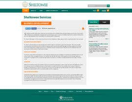 #86 untuk Website Design for Sheltowee LLC a technology investment company oleh firethreedesigns