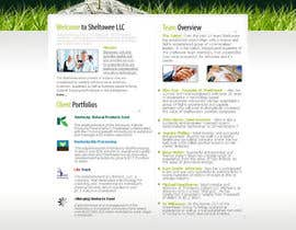 #80 para Website Design for Sheltowee LLC a technology investment company por hibernicus