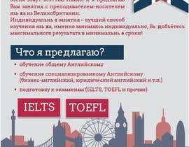 #44 для Design an Advertisement for an English language teacher от blackd51th