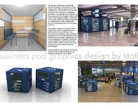 stoth tarafından Illustration Design for Business Pod design- self contained business office in business cafes için no 20
