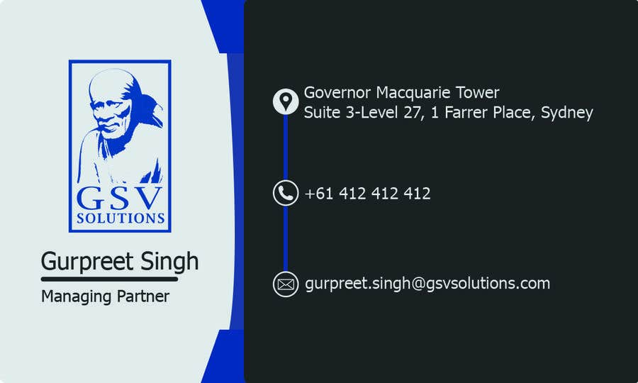 Entry 6 by nurallam121 for create a professional business card in contest entry 6 for create a professional business card in photoshop reheart Image collections