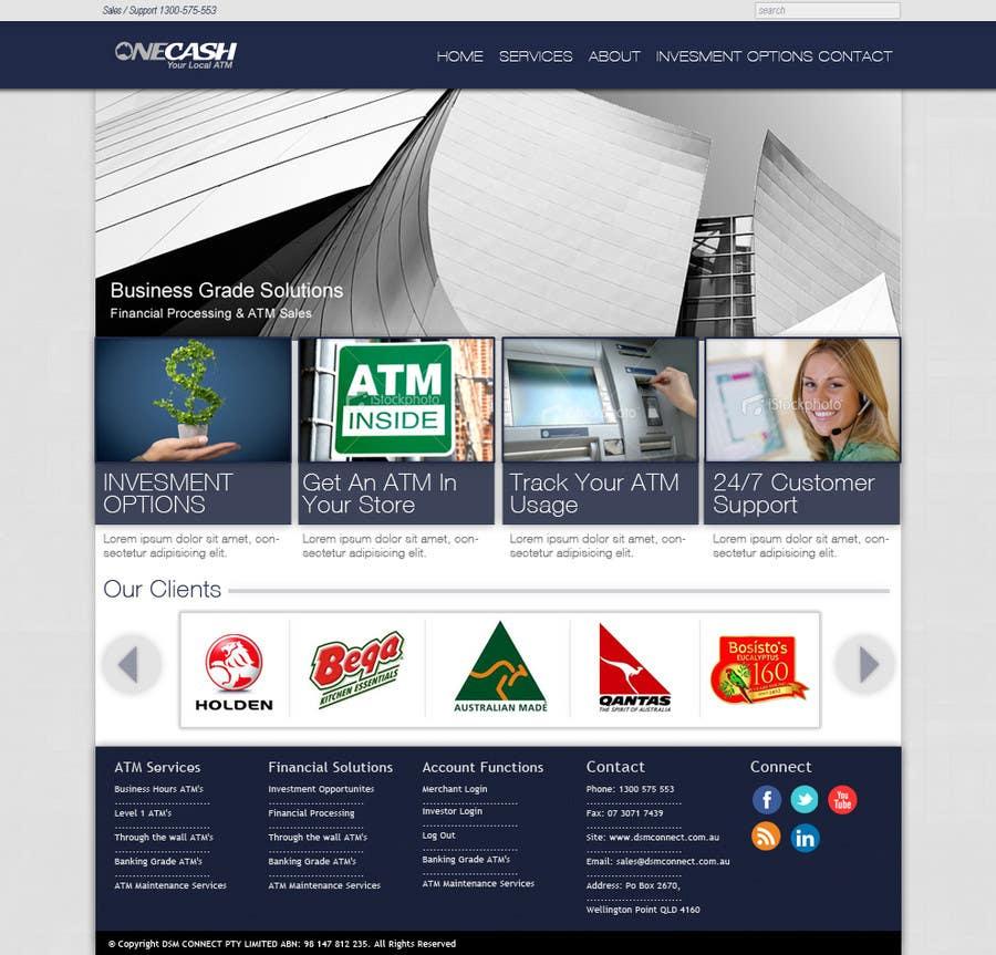 Конкурсная заявка №8 для Website Design for ONECASH LIMITED (ONE CASH)