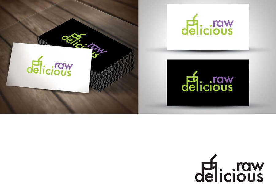 Kilpailutyö #                                        40                                      kilpailussa                                         Logo Design for Delicious Raw
