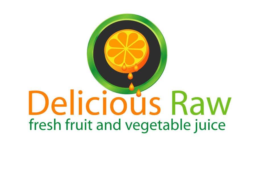 Proposition n°                                        49                                      du concours                                         Logo Design for Delicious Raw