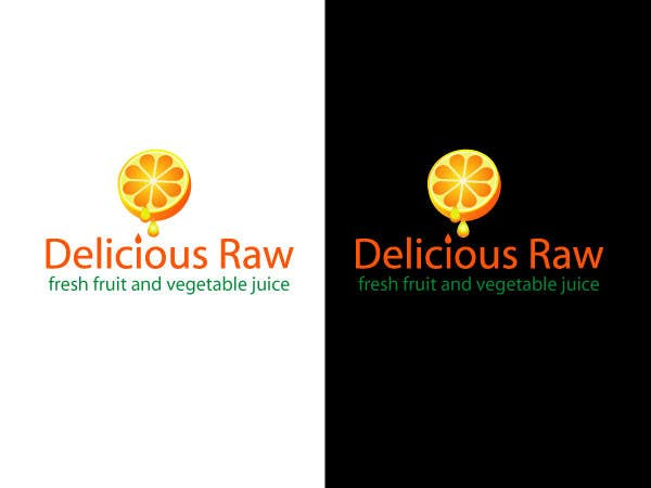 Konkurrenceindlæg #                                        5                                      for                                         Logo Design for Delicious Raw