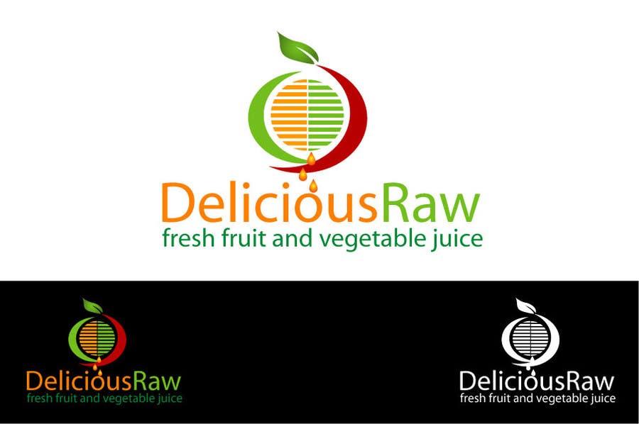 Proposition n°                                        51                                      du concours                                         Logo Design for Delicious Raw