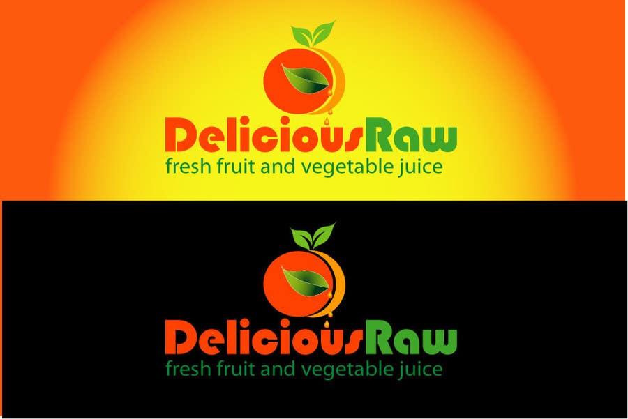 Konkurrenceindlæg #                                        45                                      for                                         Logo Design for Delicious Raw