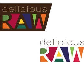 #38 for Logo Design for Delicious Raw af HeSheUs