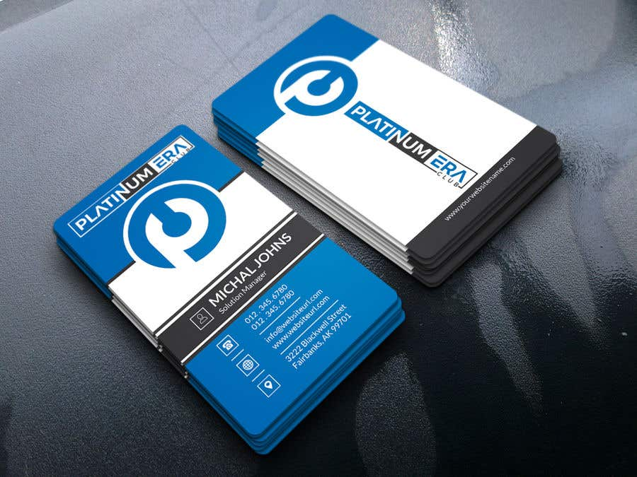 Entry #447 by pronceshamim927 for Design Business Card for ...