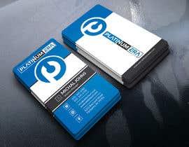 #447 for Design Business Card for Platinum Era Club by pronceshamim927