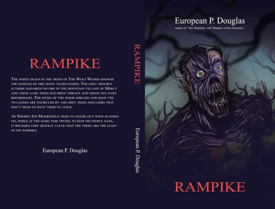 Book Cover Illustration Competition : Horror thriller book cover design freelancer