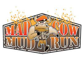 #119 para Logo Design for Mad Cow Mud Run por HimawanMaxDesign