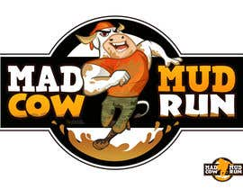 #116 pentru Logo Design for Mad Cow Mud Run de către marcialarts