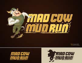 #77 para Logo Design for Mad Cow Mud Run por marcialarts