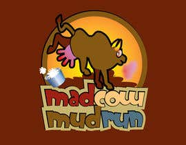 #110 para Logo Design for Mad Cow Mud Run por stanbaker