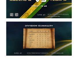 #13 untuk Contest - Tournament announcements oleh dnljhn