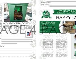 #20 untuk Newsletter Template for Animal Rescue developed in Illustrator oleh ryucalderon94