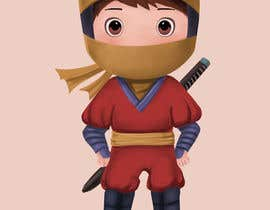 #35 for Kids Ninja Illustration by starwings333