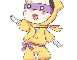 #62 for Kids Ninja Illustration af mfkamilarts