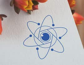 #426 for Logo of atom with camera lens as nucleus af anshalahmed