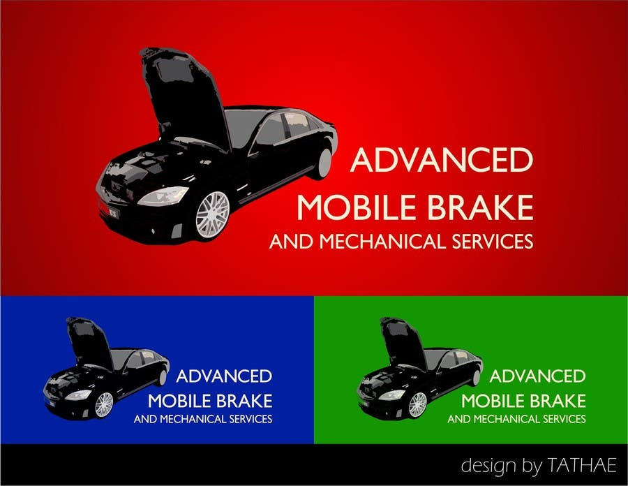 Penyertaan Peraduan #                                        9                                      untuk                                         Design a Logo for Brake & Mechanical Service