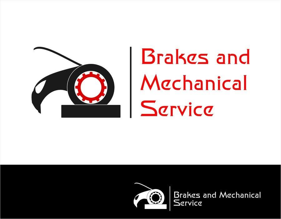 Penyertaan Peraduan #                                        22                                      untuk                                         Design a Logo for Brake & Mechanical Service