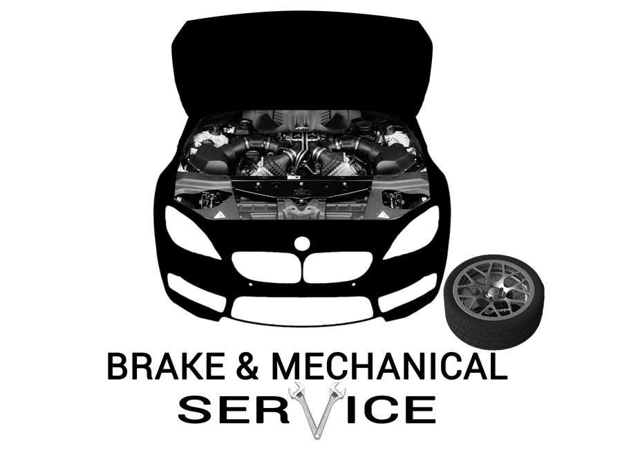 Penyertaan Peraduan #                                        21                                      untuk                                         Design a Logo for Brake & Mechanical Service