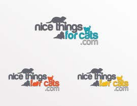 #190 cho Logo Design for Nicethingsforcats.com bởi yanninicolaides