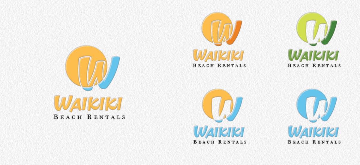 Inscrição nº                                         42                                      do Concurso para                                         Logo Design for WaikikiBeachRentals.com
