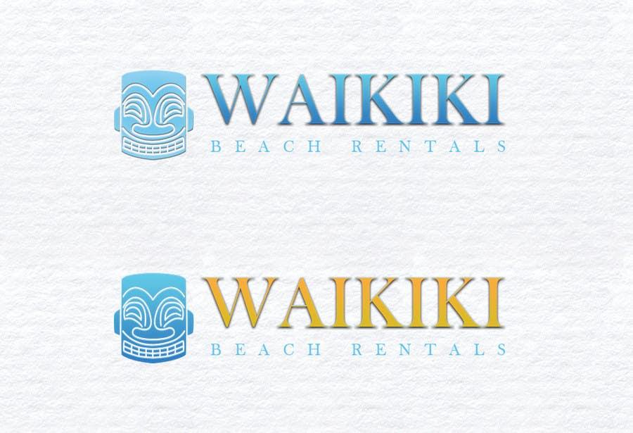Penyertaan Peraduan #44 untuk Logo Design for WaikikiBeachRentals.com