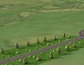 #6 for 3D model the Sudbury, Suffolk, UK Bypass Road af joaillustrator