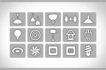 Proposition n° 82 du concours Graphic Design pour Illustration Category Header/Tile Design for Coronet Lighting