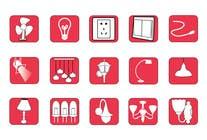 Proposition n° 92 du concours Graphic Design pour Illustration Category Header/Tile Design for Coronet Lighting