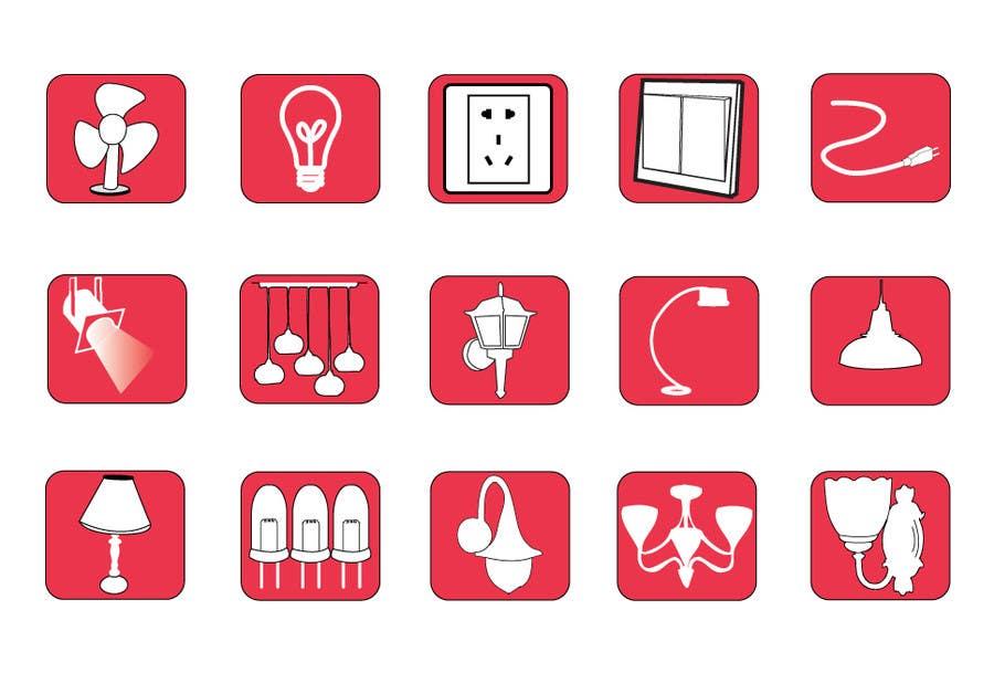 Proposition n°92 du concours Illustration Category Header/Tile Design for Coronet Lighting