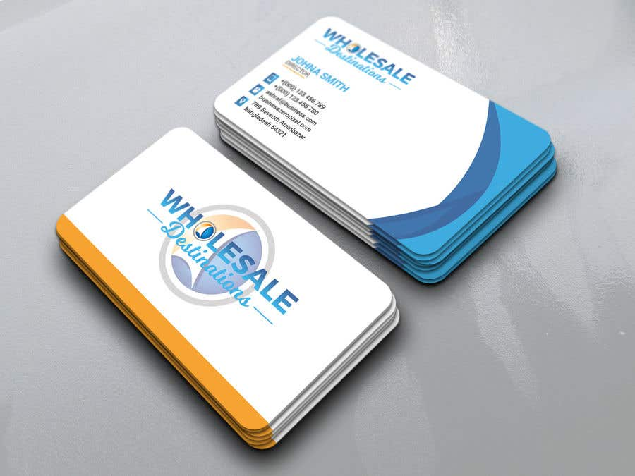 Entry #10 by airasel for Travel Agency business card | Freelancer