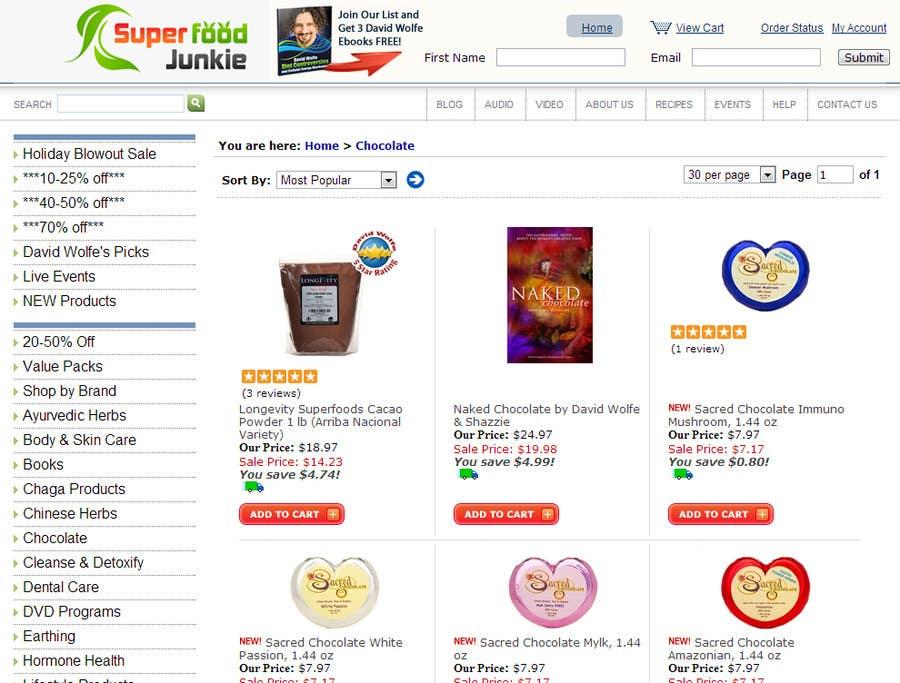 Proposition n°                                        116                                      du concours                                         Logo Design for Superfood Junkie