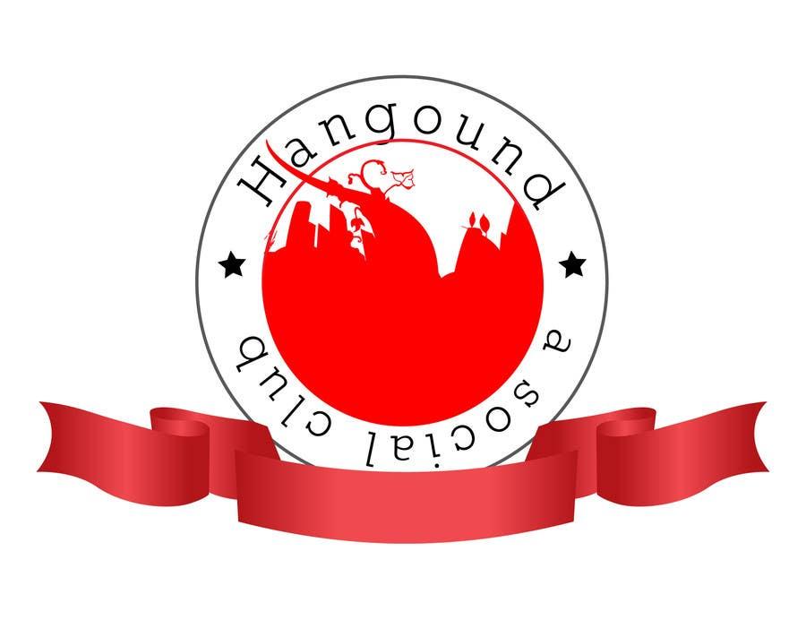 Konkurrenceindlæg #96 for Logo design for Hangound (hangound.com), a new web social network based in NY.