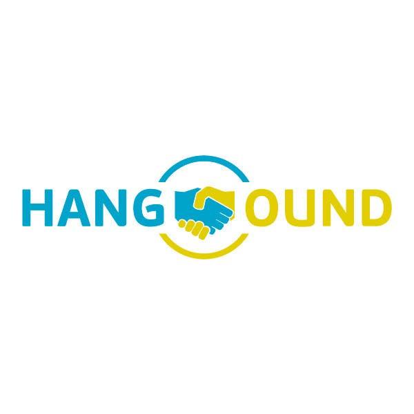Logo design for Hangound (hangound.com), a new web social network based in NY. için 12 numaralı Yarışma Girdisi